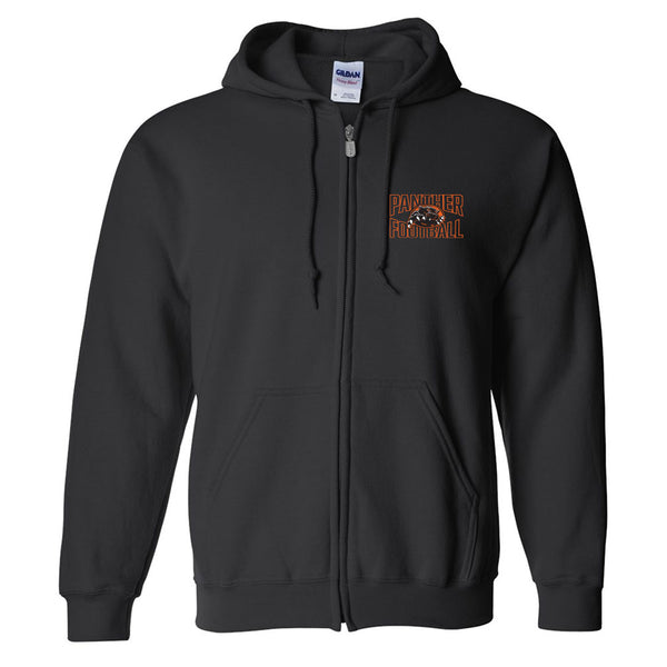 Palmyra Football Full Zip Hoodie