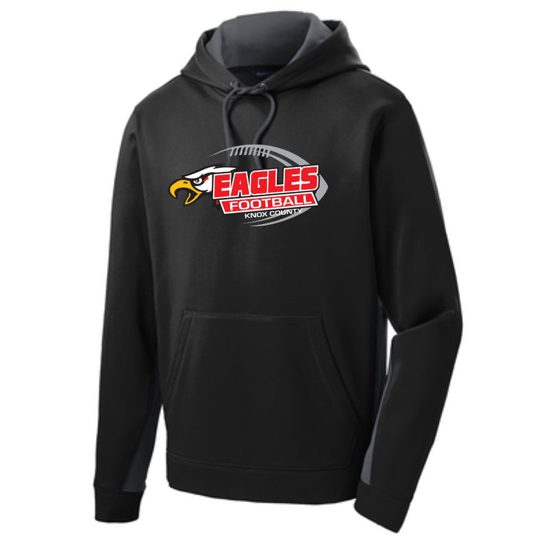 Knox County Football Colorblock Hoodie