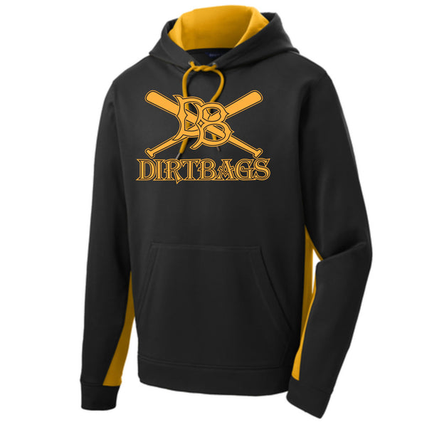 Dirtbag Baseball Colorblock Hoodie