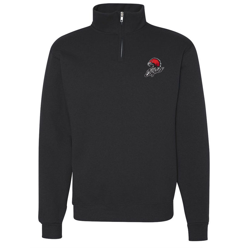 QCCS Eagles Jerzees 1/4 Zip Sweatshirt