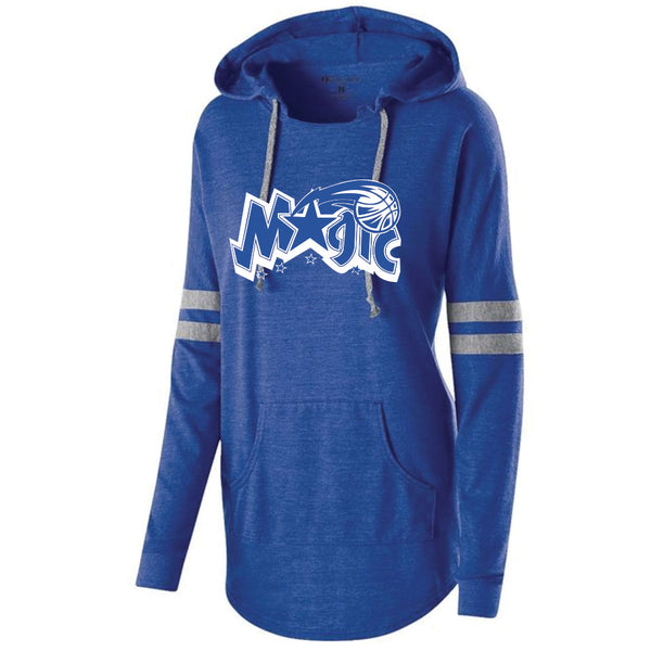 Magic Basketball Ladies Hooded Pullover
