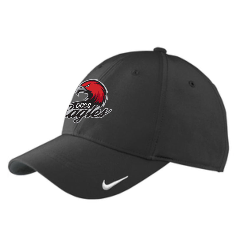 QCCS Eagles Nike Hat