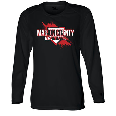 Marion County Spring 2019 Ladies Drifit Long Sleeve