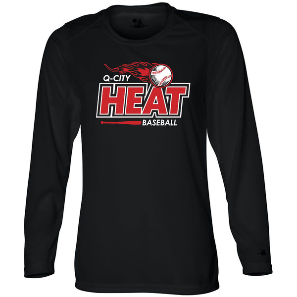 Q-City Heat Ladies Drifit Long Sleeve