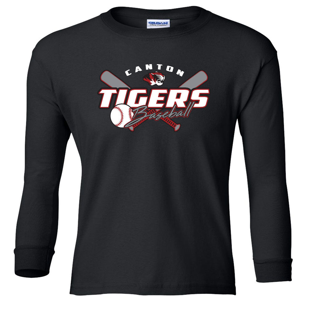 Canton Baseball Youth Long Sleeve