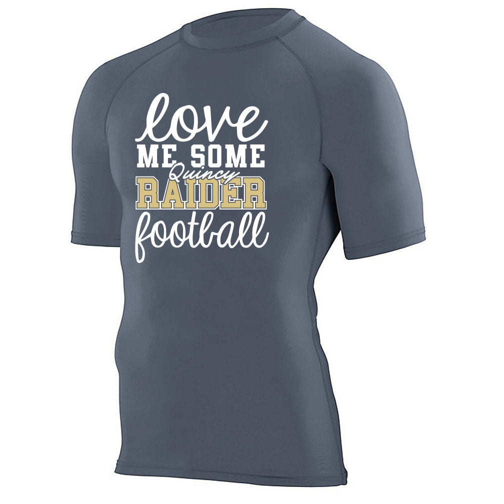 Raider Football Compression Tee