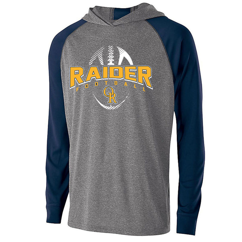 Raider Football Echo Light Weight Hoodie