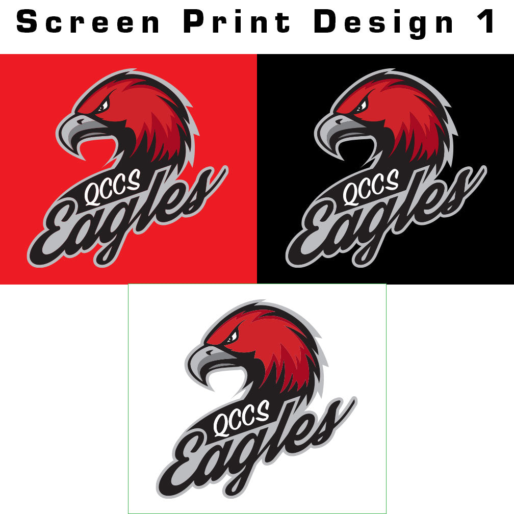 QCCS Eagles Softstyle Tee