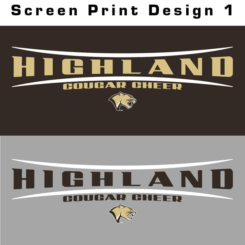 Highland Cheer Squad Ladies Electrify V-Neck Long Sleeve