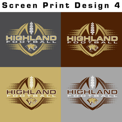 Highland Football Drifit Tee