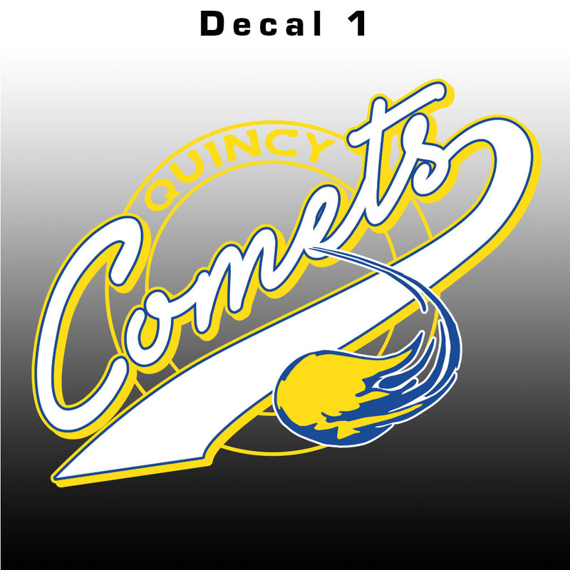 Quincy Comets Decal