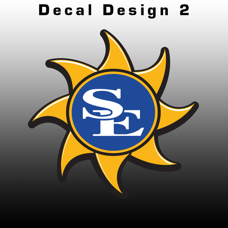 Southeastern Suns Decal