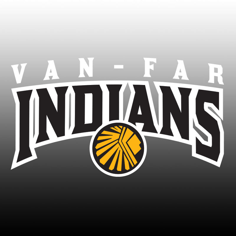 Van-Far Indians Window Decal