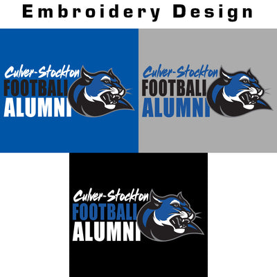 C-SC Football Alumni Colorblock Polo