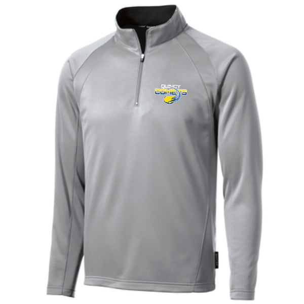 Quincy Comets Fleece Lined 1/4 Zip