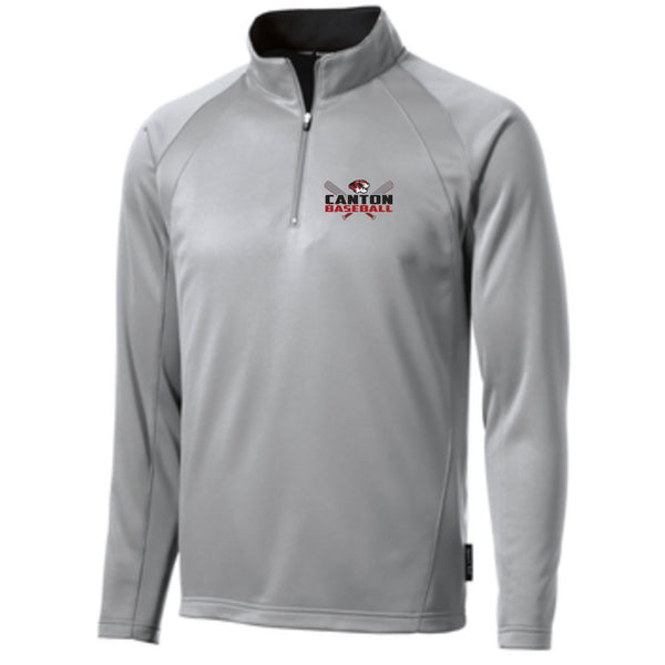 Canton Baseball Fleece Lined 1/4 Zip