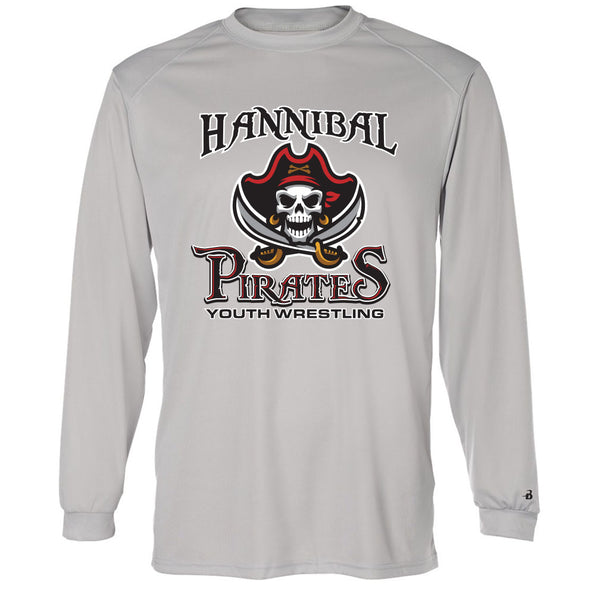 Hannibal Youth Wrestling Drifit Long Sleeve