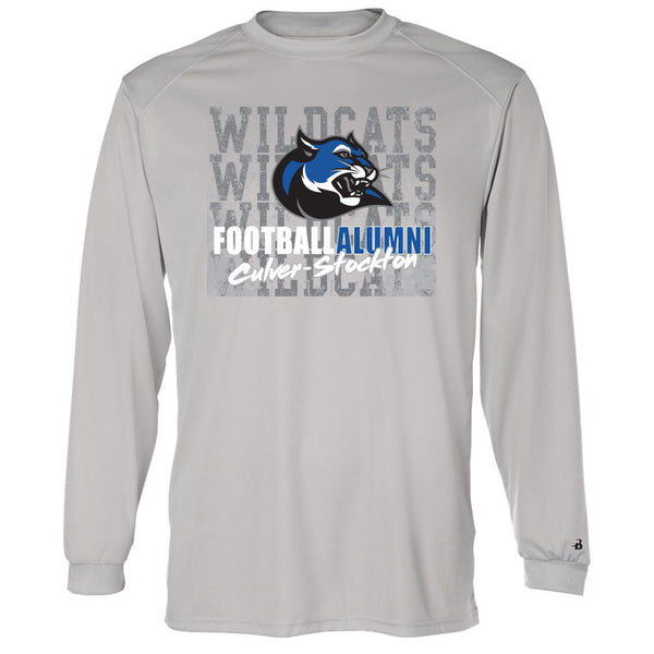 C-SC Football Alumni Drifit Long Sleeve