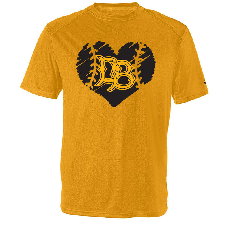 Dirtbag Baseball Drifit Tee