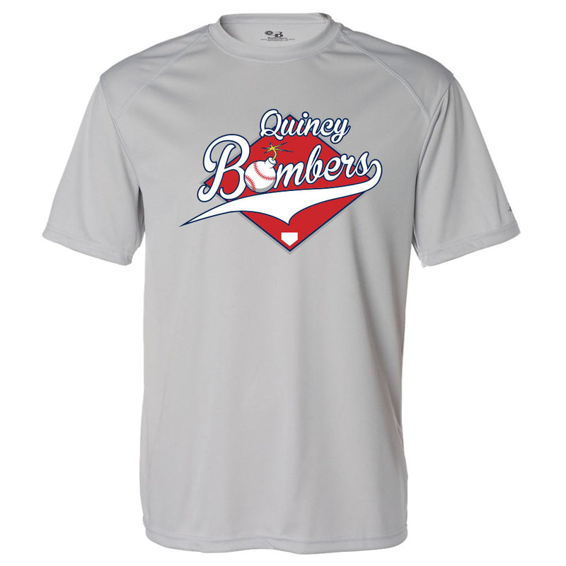 Quincy Bombers Drift Tee