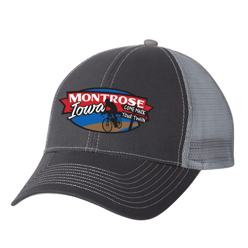 Mark Your Twain Event Structured Meshback Hat