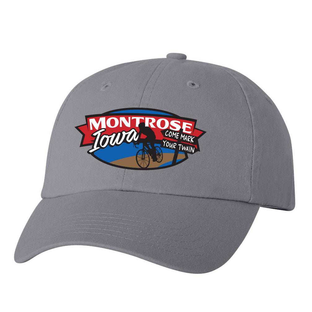 Mark Your Twain Event Unstructured Twill Hat