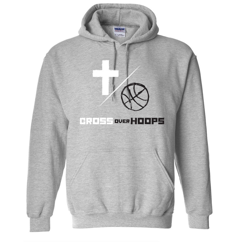 Cross Over Hoops Sport Grey Hoodie