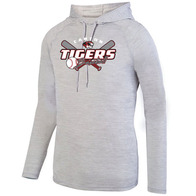 Canton Baseball Drifit Lightweight Heather Hoodie