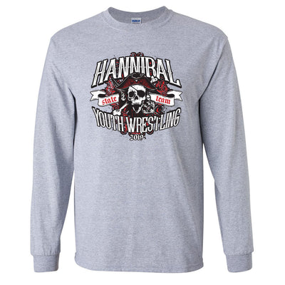 Hannibal Youth Wrestling Long Sleeve