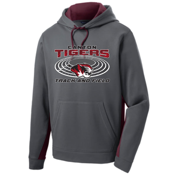 Canton Track & Field Colorblock Hoodie