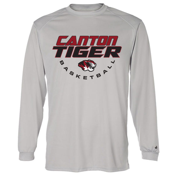 Canton Basketball Drifit Long Sleeve