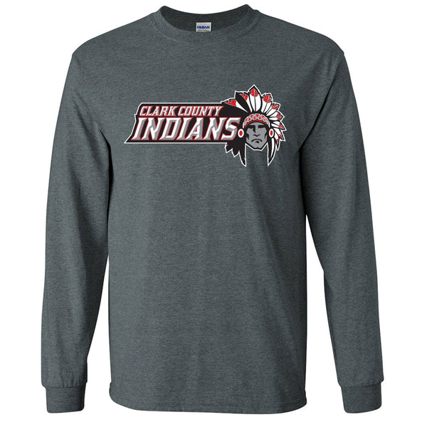 Clark County Indians Long Sleeve T-Shirt