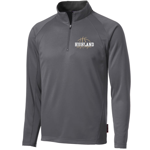 Highland Basketball Fleece Lined 1/4 Zip