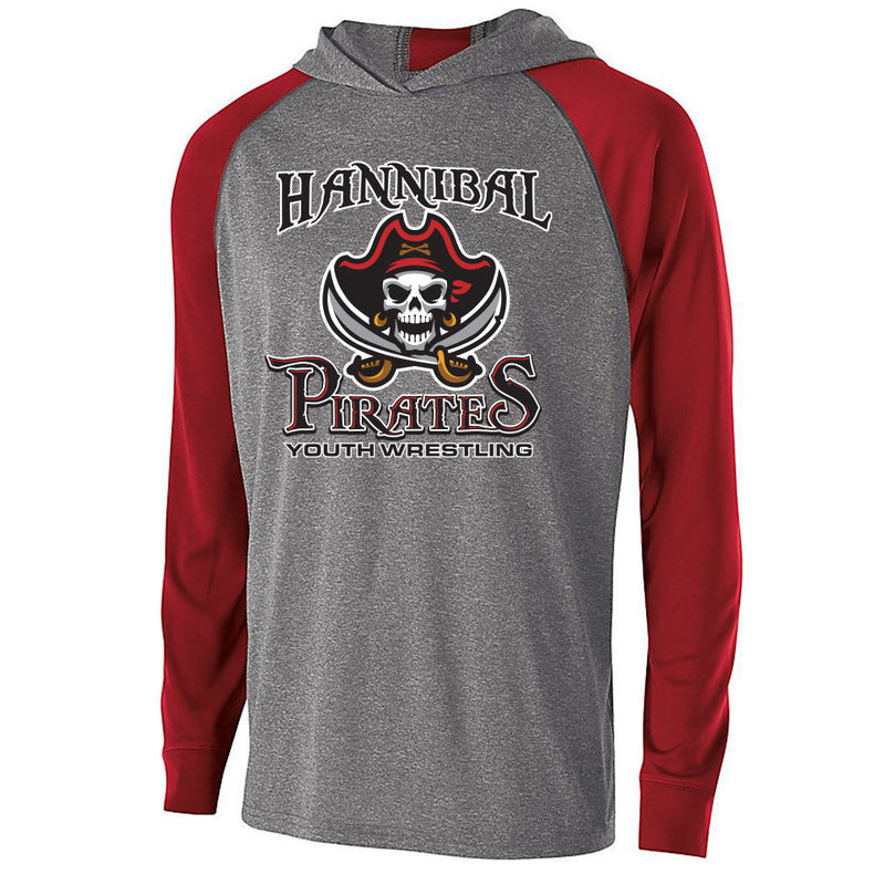 Hannibal Youth Wrestling Echo Drifit Light Weight Hoodie
