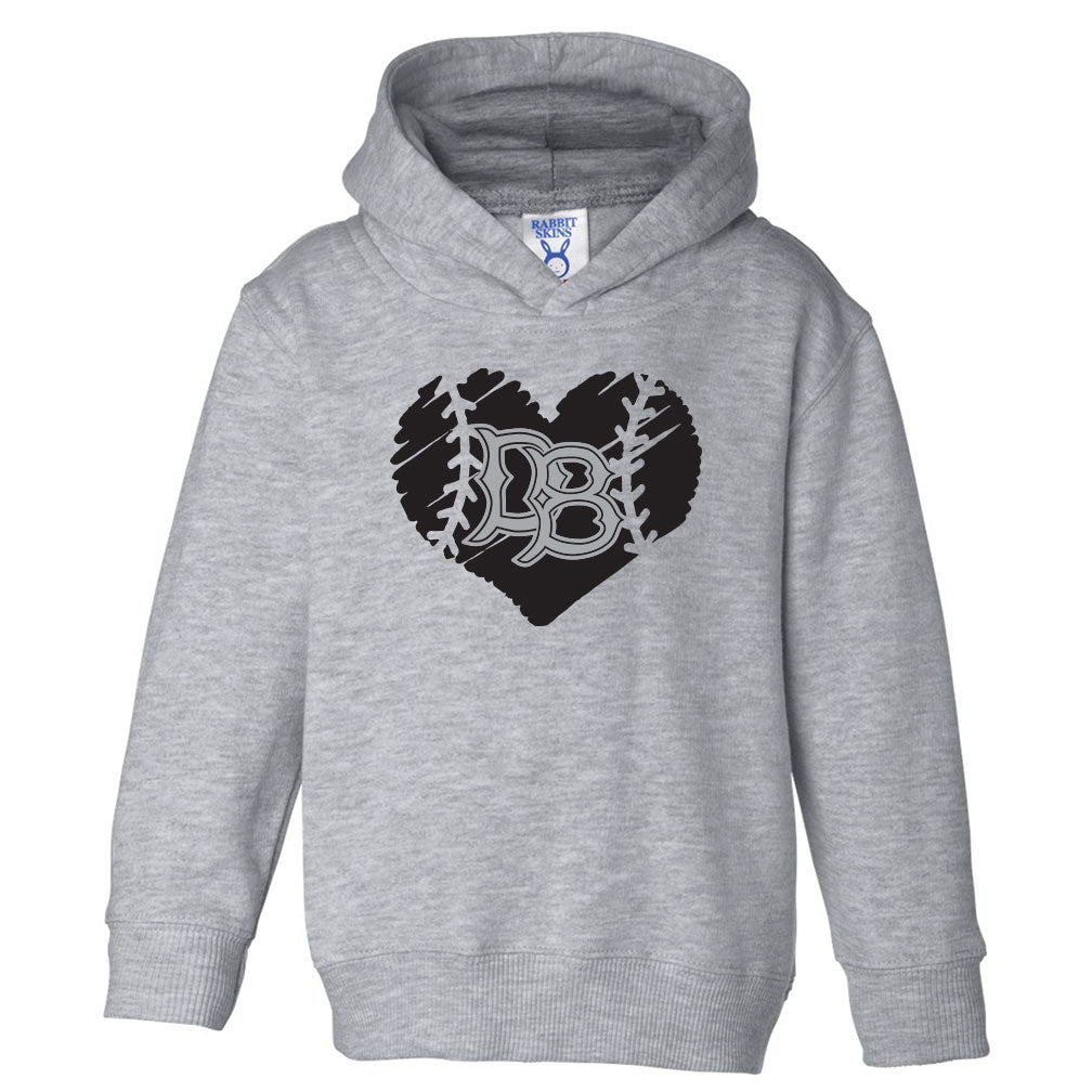 Dirtbag Baseball Toddler Hoodie