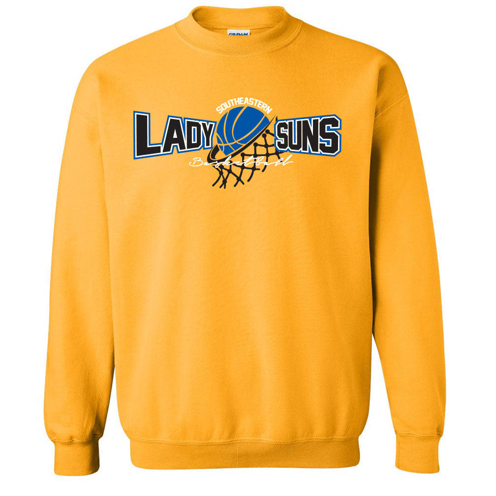 Lady Suns Basketball Sweatshirt