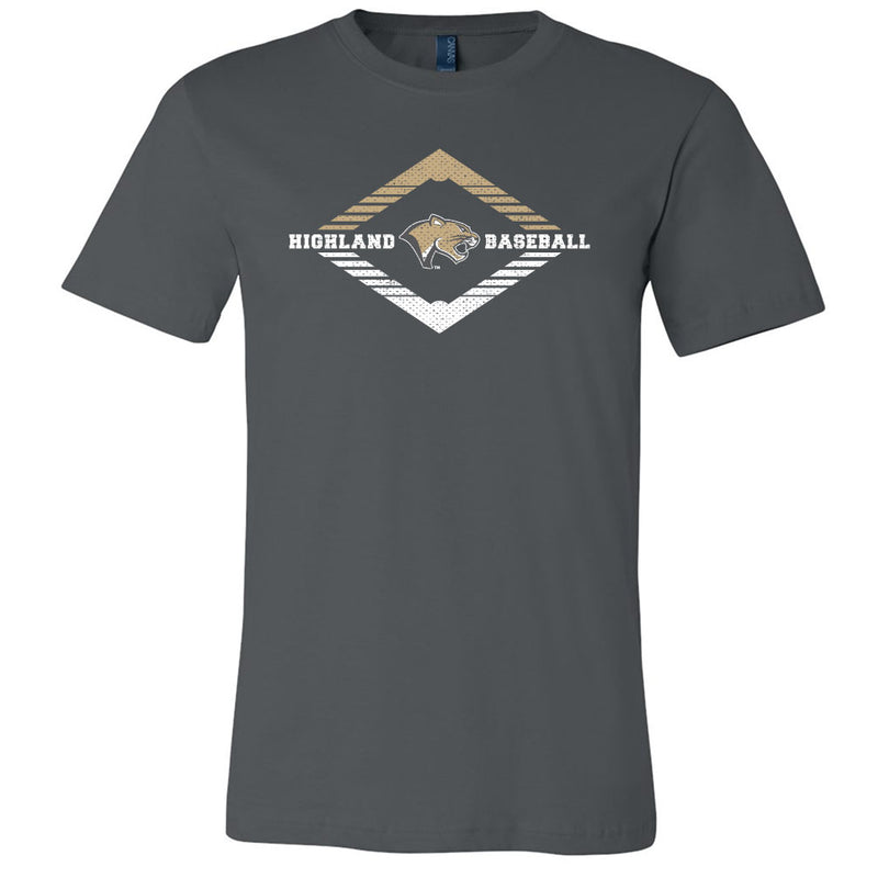 Highland Baseball Softstyle Tee