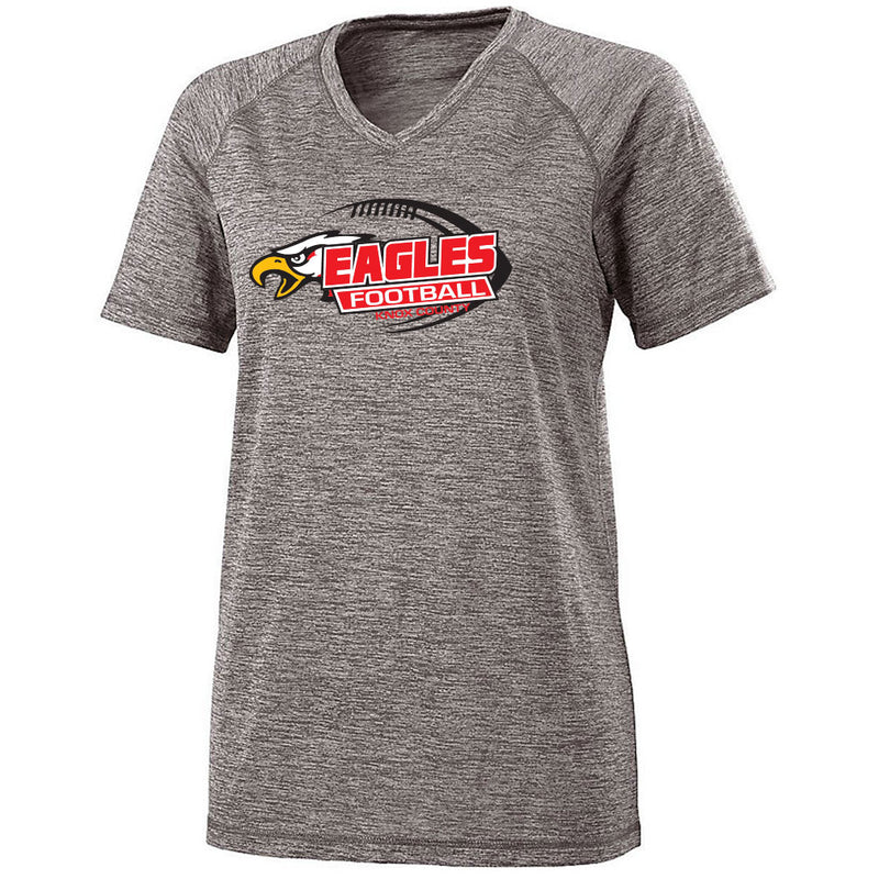 Knox County Football Ladies Electrify V-Neck Tee