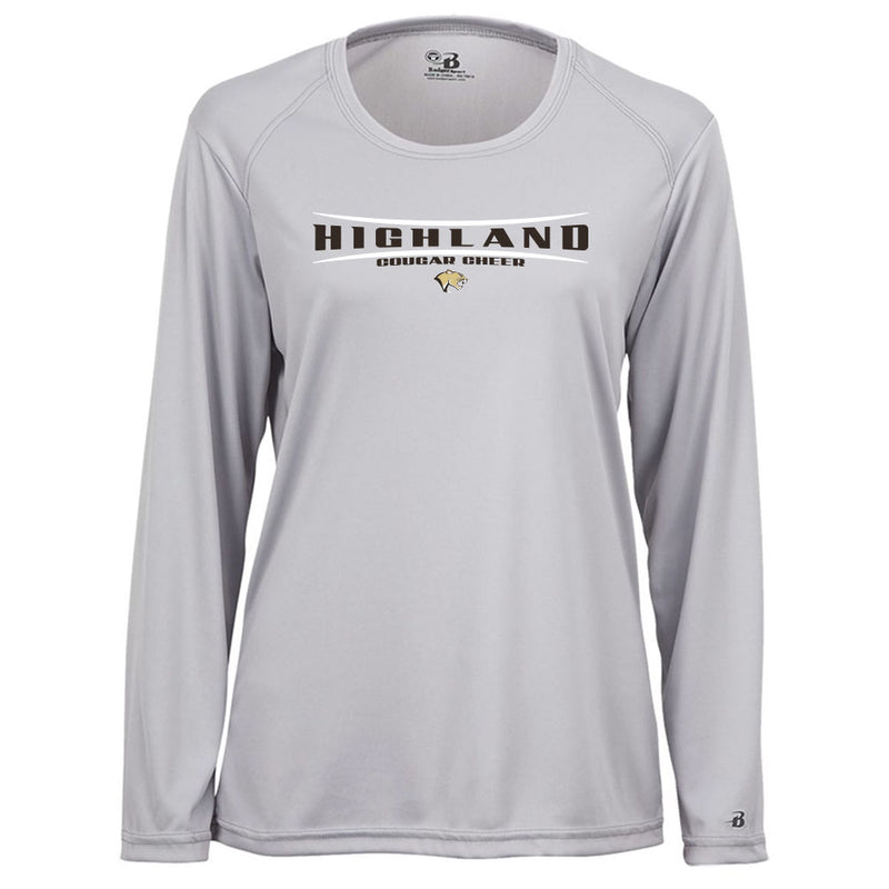Highland Cheer Squad Ladies Drift Long Sleeve