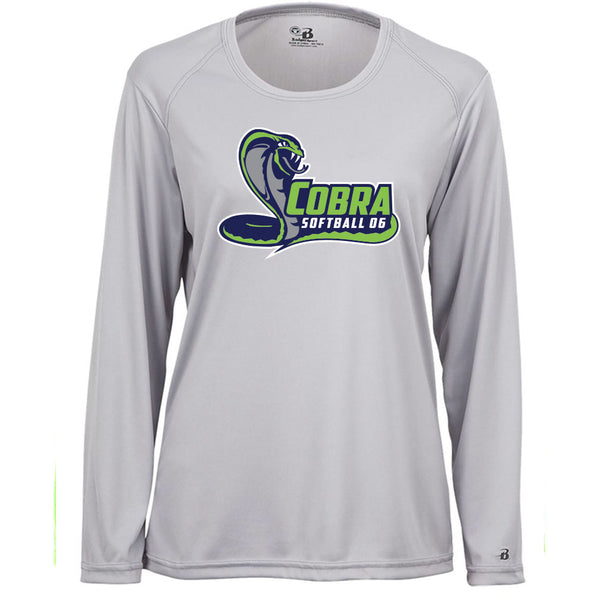Cobra 06 Softball Ladies Drifit Long Sleeve