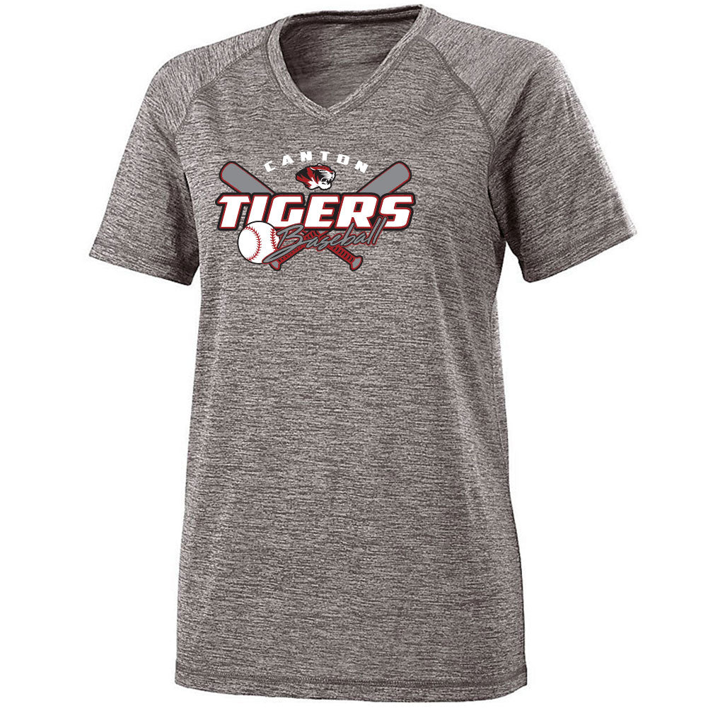 Canton Baseball Ladies Electrify V-Neck