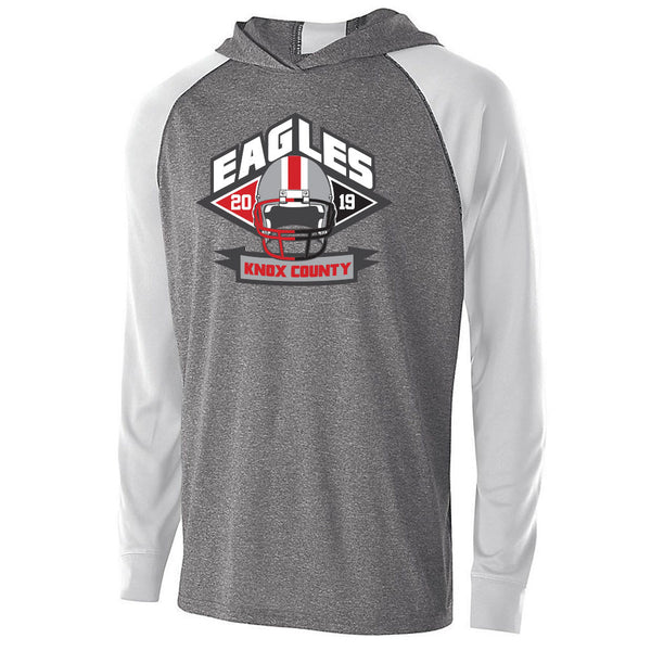 Knox County Football Echo Light Weight Drifit Hoodie