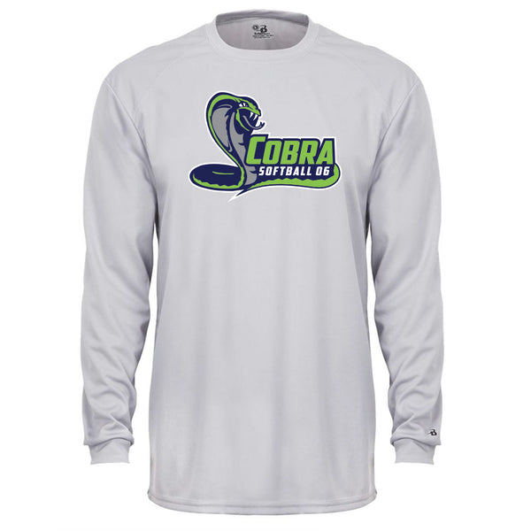 Cobra 06 Softball Youth Drifit Long Sleeve