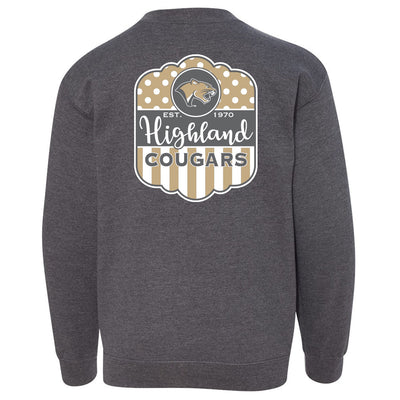 Highland Youth Sweatshirt Girly Cougar