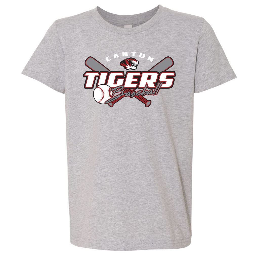 Canton Baseball Youth Softstyle Tee