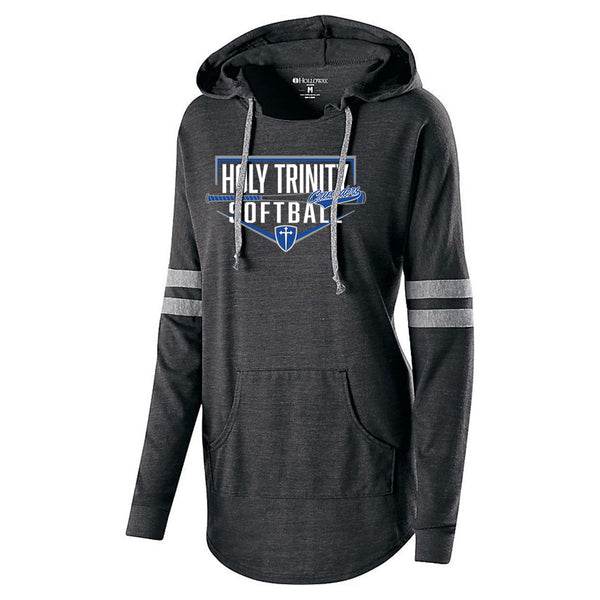 2020 Holy Trinity Softball Ladies Hooded Pullover