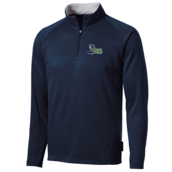 Cobra 06 Softball Fleece Lined 1/4 Zip