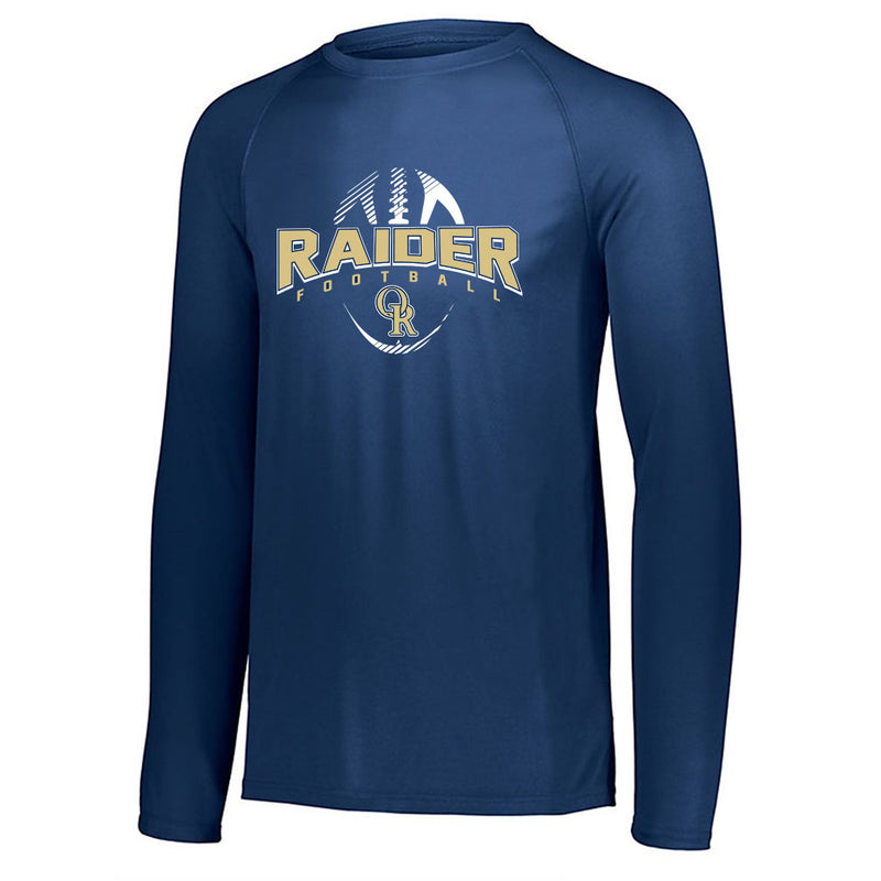 Raider Football Drifit Long Sleeve