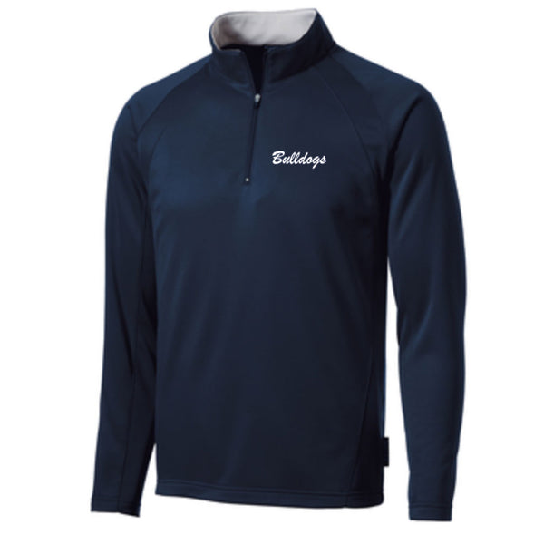 Bulldogs Fleece Lined 1/4 Zip