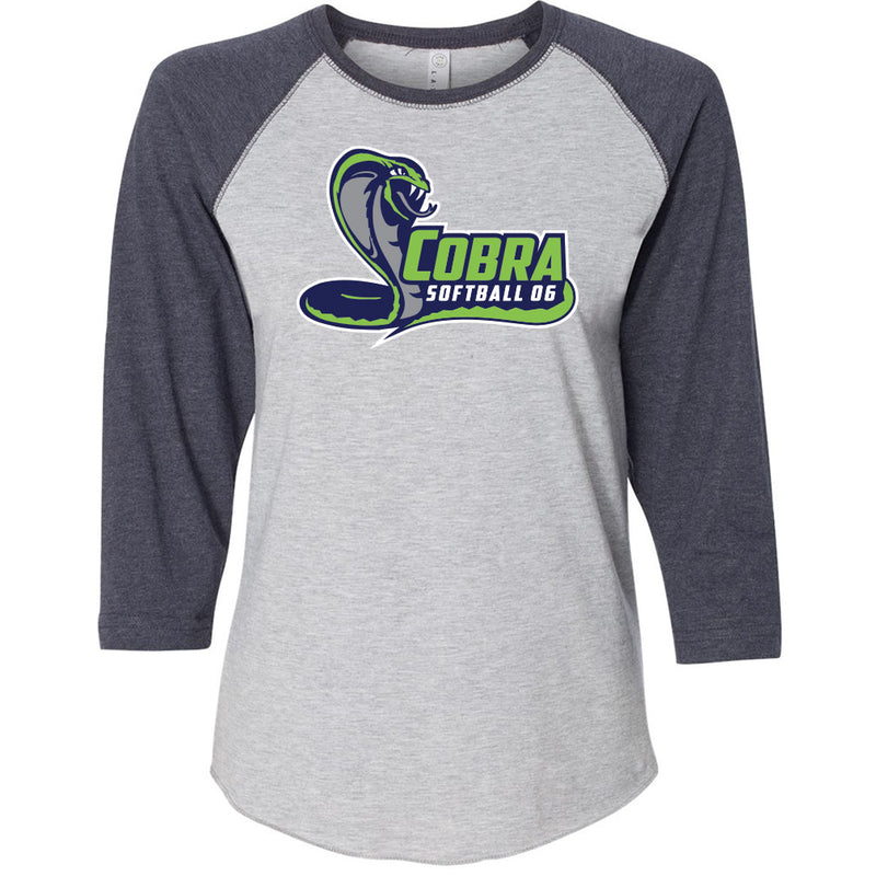Cobra 06 Softball Ladies Baseball Tee